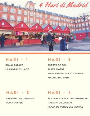 4 Hari Wisata di Madrid,Spanyol